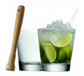 Komplet 2 szklanek do drinków 300ml + tłuczek
