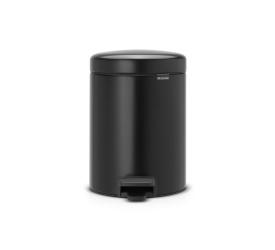 Kosz na odpady NewIcon 2x2l czarny