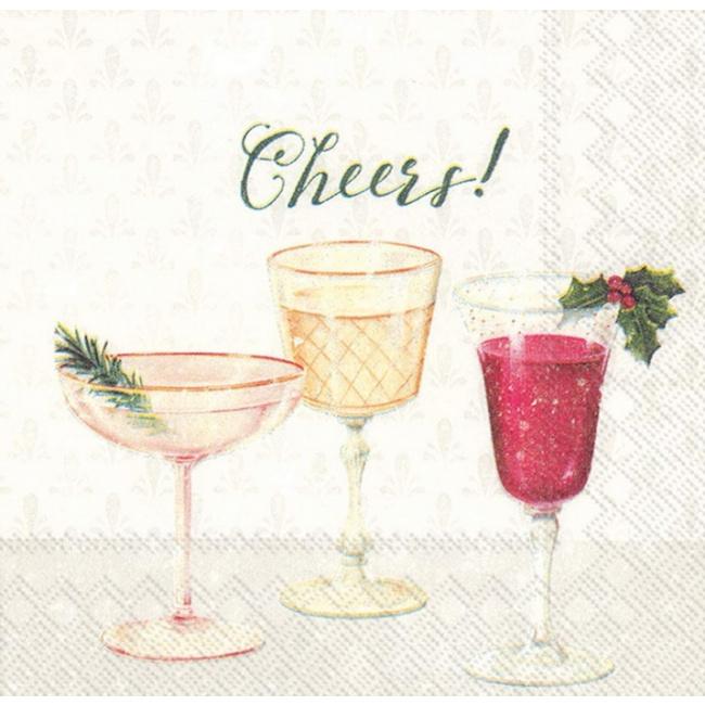 Serwetki 25x25cm Cheers! 20szt.