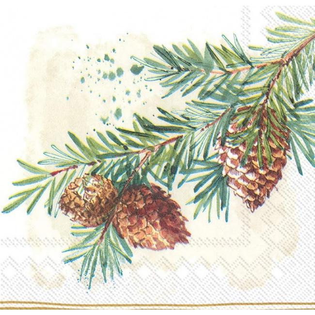 Serwetki 33x33cm Branches 20szt.