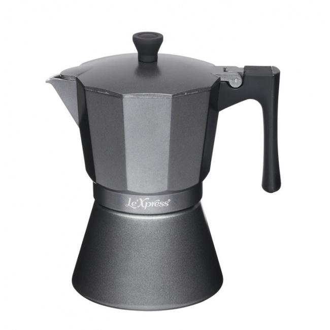 Kawiarka aluminiowa Le'Xpress 6-filiż.