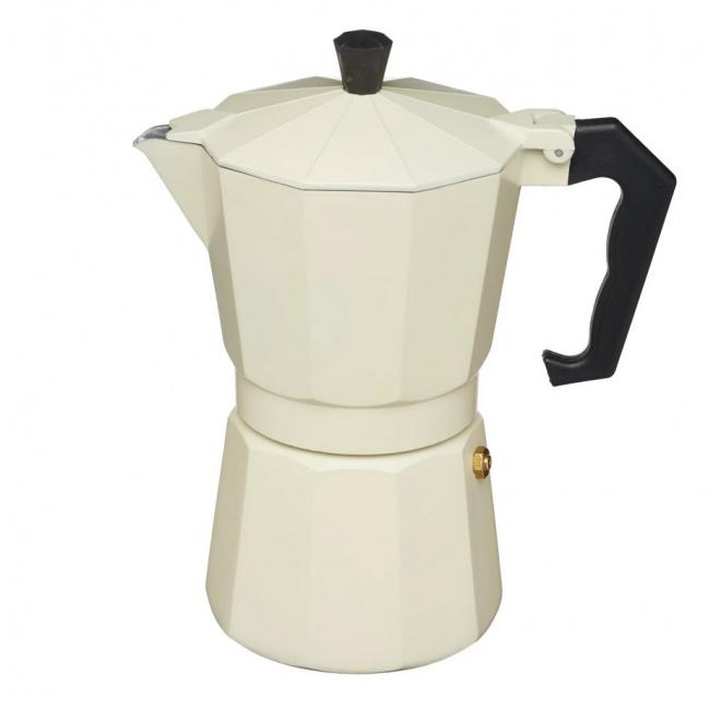 Kawiarka ciśnieniowa aluminiowa 6-filiż.