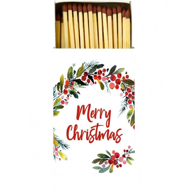 Zapałki Merry Christmas 45szt.
