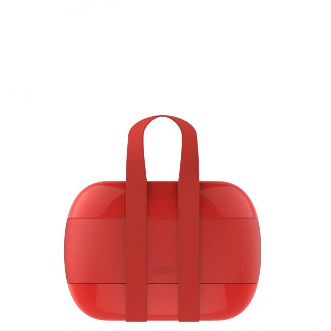 Lunchbox 1.25l czerwony
