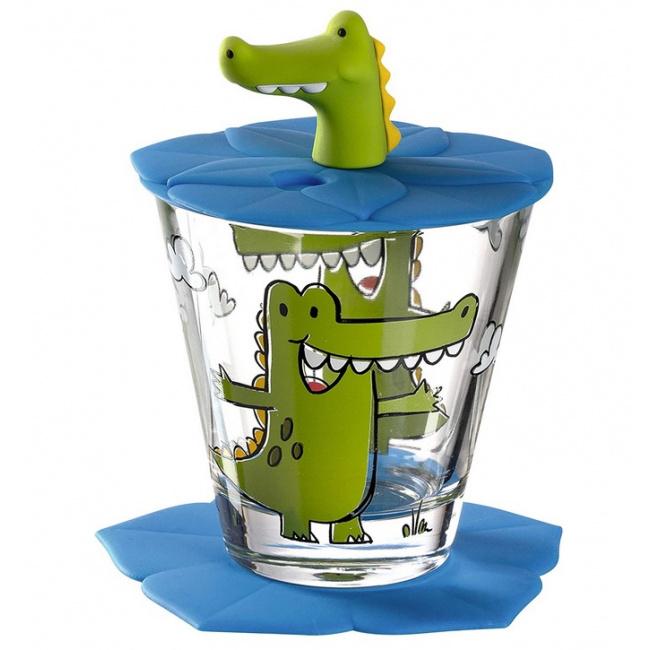 Szklanka Bambini 215ml Krokodyl