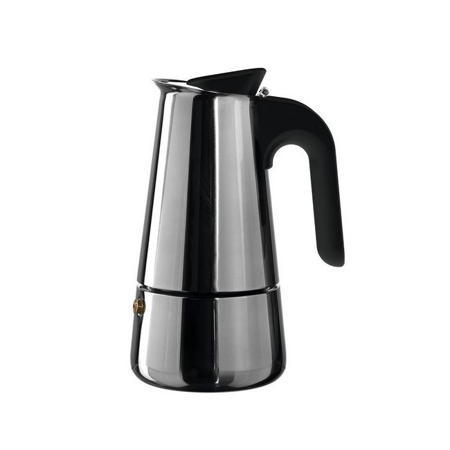 Kawiarka ciśnieniowa stalowa Caffe per me 4-filiż.