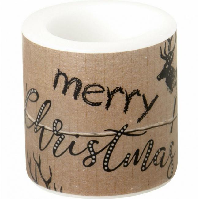 Świeczka Christmas present 7,5cm