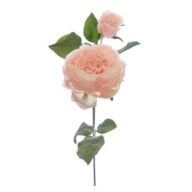 Róża 60cm różowa