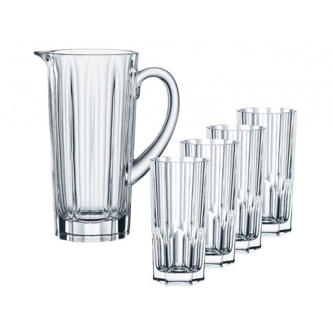 Dzbanek Aspen 1,2l + 4 szklanki