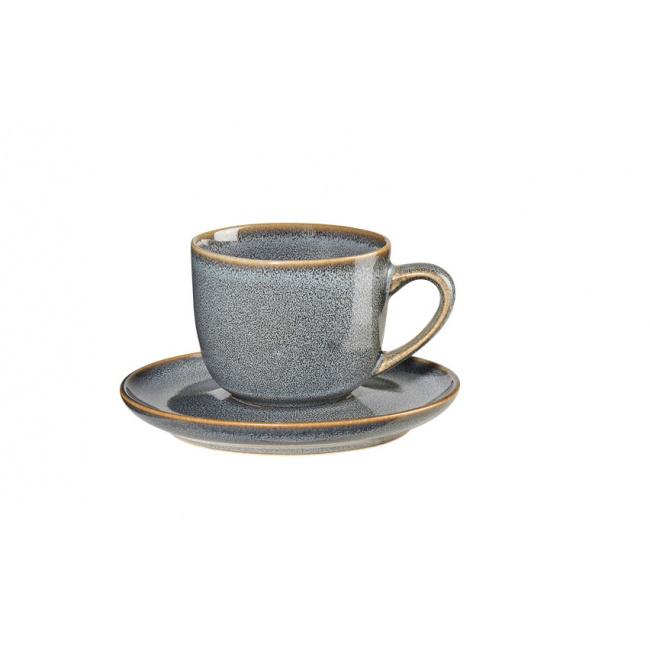 Filiżanka ze spodkiem Saisons Denim 90ml do espresso