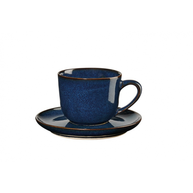 Filiżanka ze spodkiem Saisons Midnight Blue 90ml do espresso