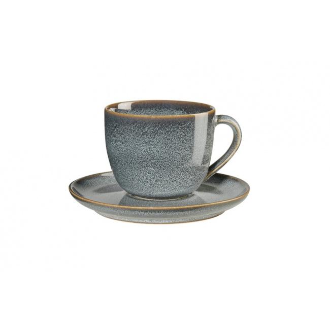 Filiżanka ze spodkiem Saisons Denim 230ml do kawy