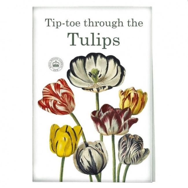 Ręcznik 70x50cm Tiptoe tulips