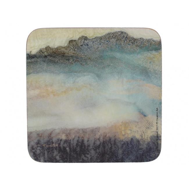 Komplet 6 podkładek 10x10cm Lustre Mineral