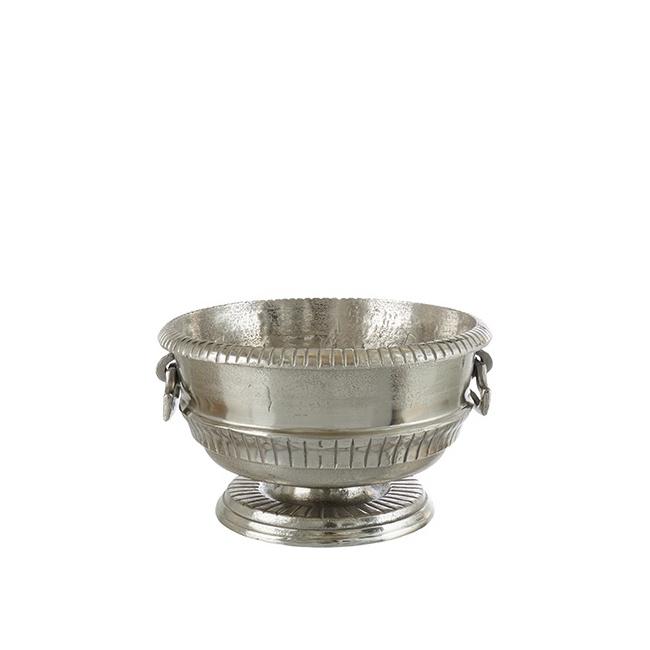 Cooler do szampana 38cm srebrny
