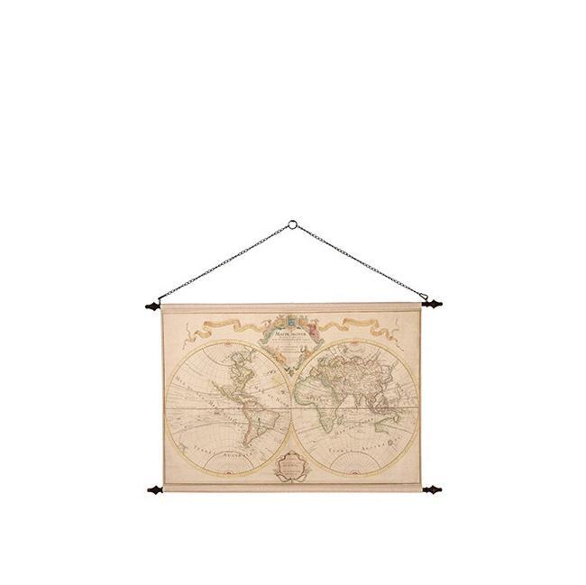 Mapa świata 135x85cm