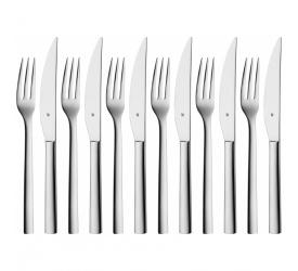Komplet sztućców do steaków Nuova 12 elementów (6 osób)