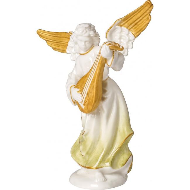 Figurka Aniołek z lutnią Christmas Angels 15cm