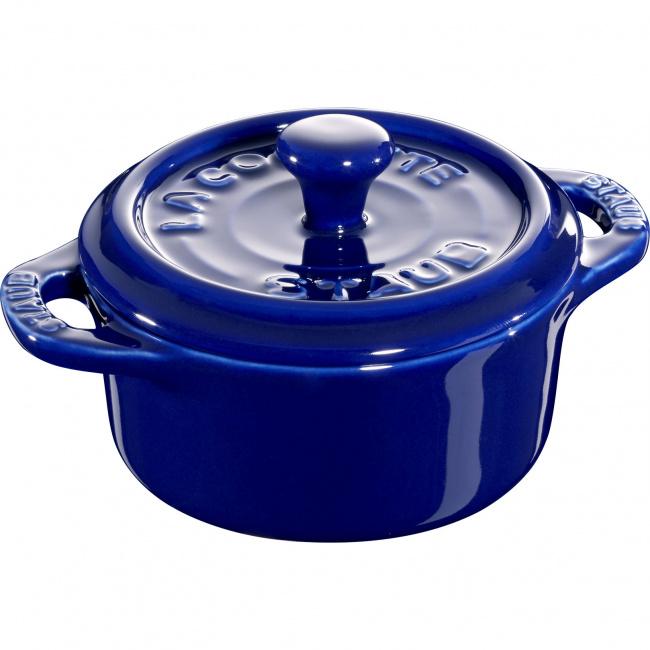 Garnek Mini cocotte 200ml niebieski