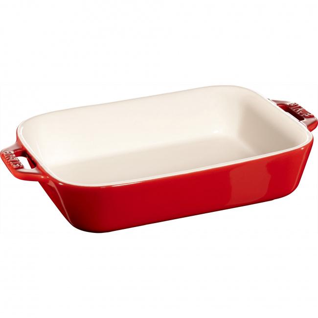 Półmisek ceramiczny Cooking 16x20cm 1,1l czerwony