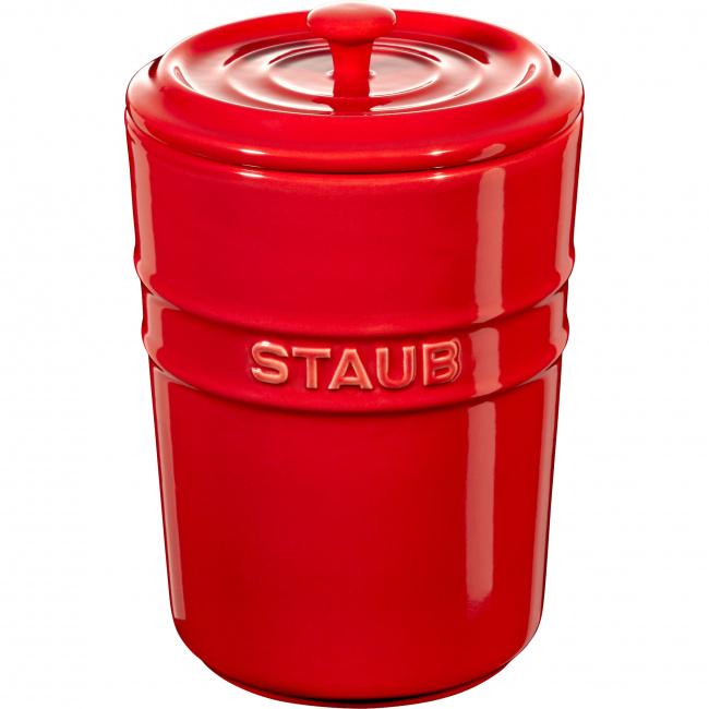 Pojemnik do przechowywania Storage 1l czerwony