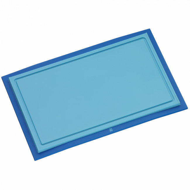 Deska 32x20cm do krojenia  niebieska