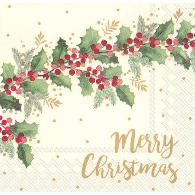 Serwetki 25x25cm Merry Christmas 20szt.