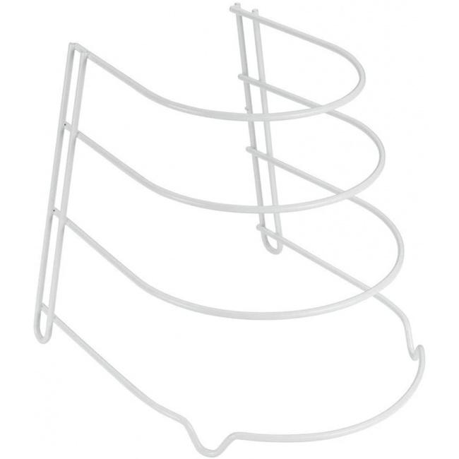 Stojak na patelnie 27x23cm biały