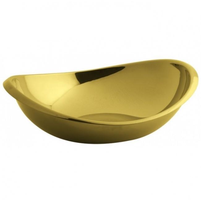 Misa Twist 26x22cm złota