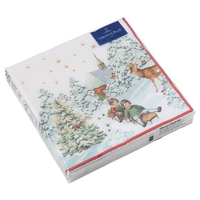 Serwetki Winter Specials 25cm dla dzieci