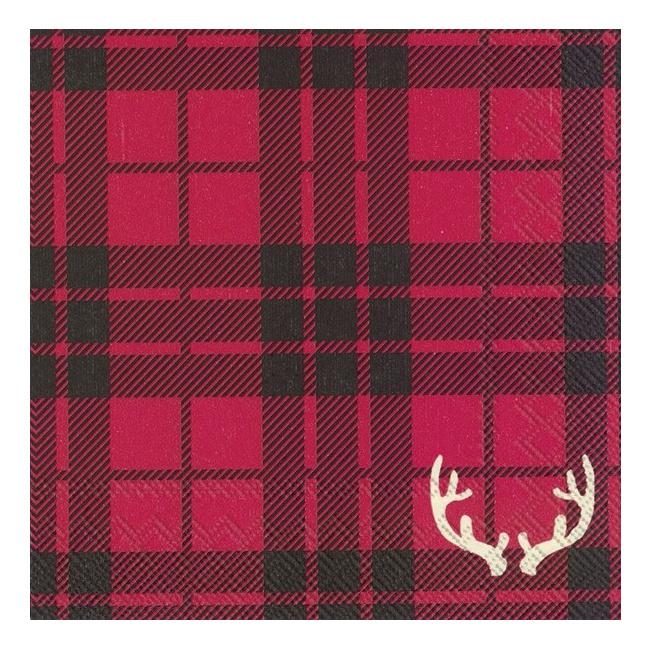 Serwetki 25x25cm Red Flannel 20szt.