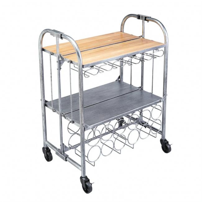 Wózek barowy składany