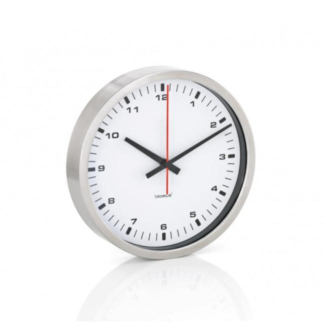 Zegar ścienny Era 24cm biały mat