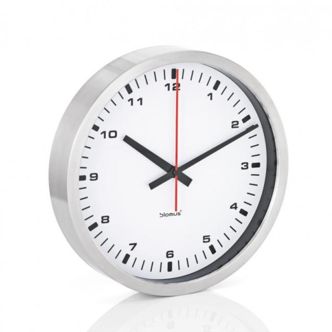 Zegar ścienny Era 30cm biały mat