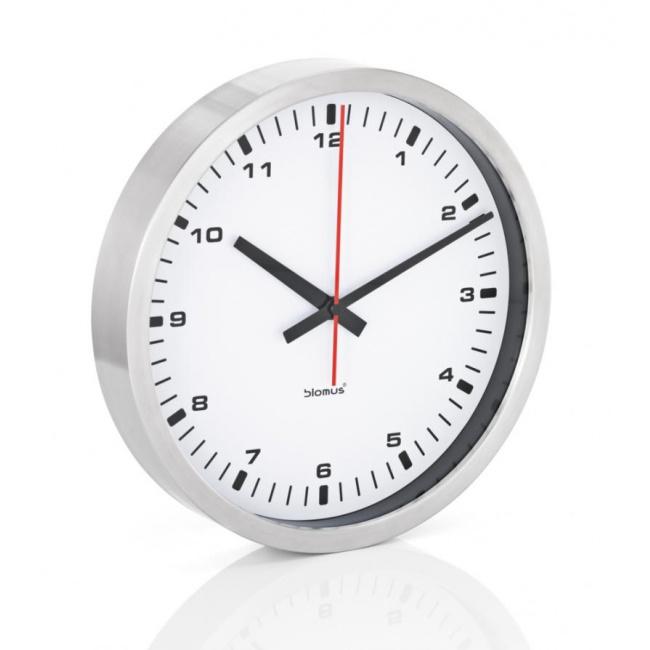 Zegar ścienny Era 40cm biały mat