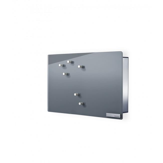 Skrzynka na klucze Velio magnetyczna szara