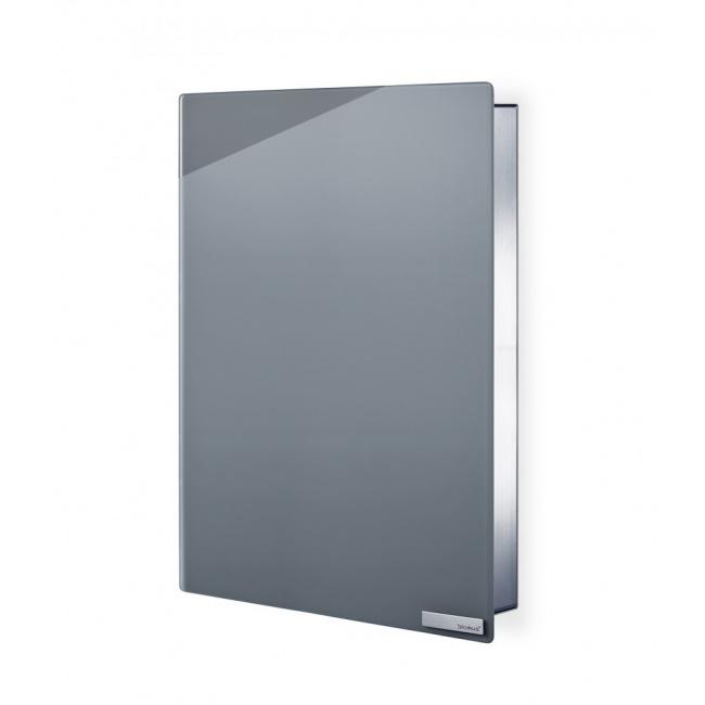 Magnetyczna skrzynka na klucze szare szkło