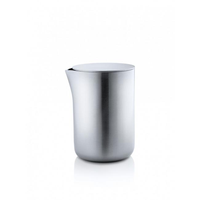 Mlecznik Basic 250ml z pokrywą stalową matowy