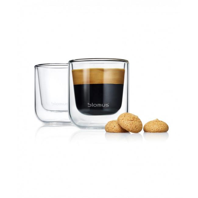 Zestaw 2 szklanek Nero do espresso