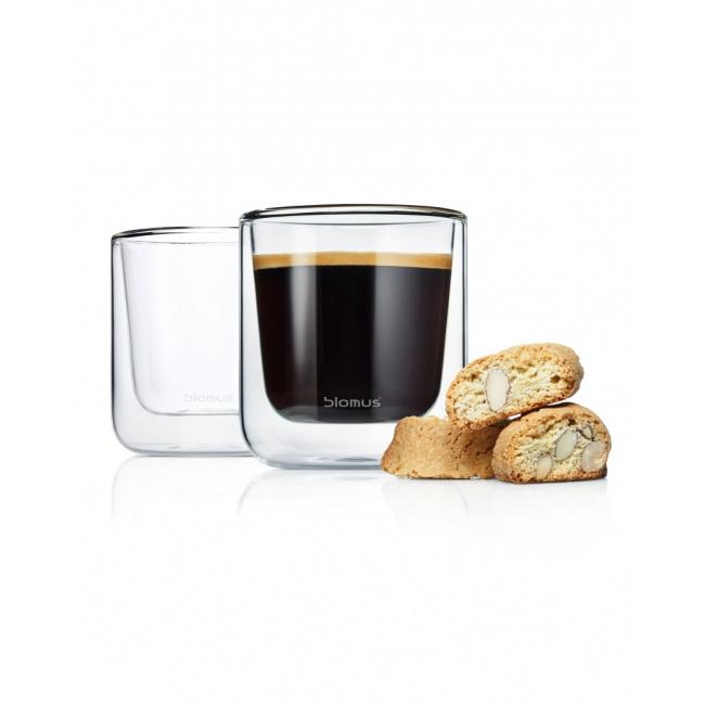 Zestaw 2 szklanek Nero Caffe/Tea