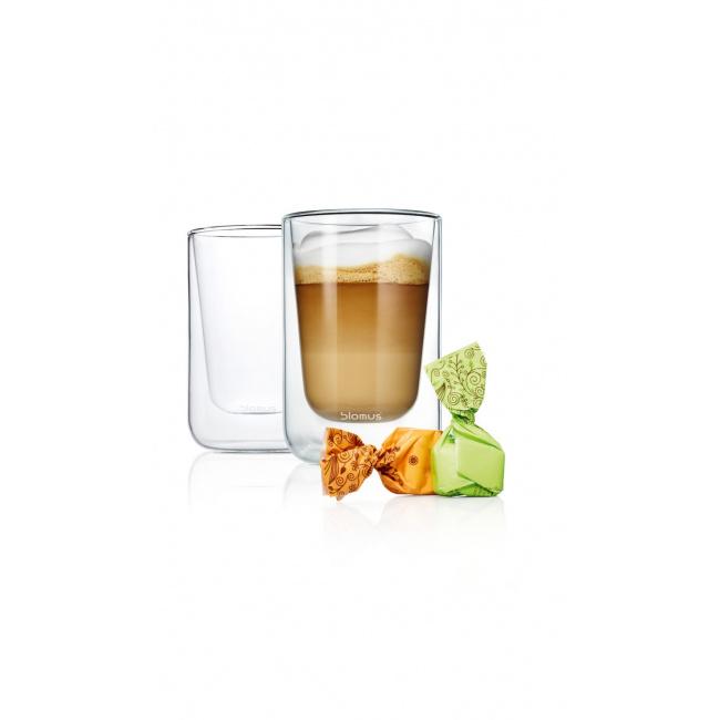 Zestaw 2 szklanek Nero 250ml do cappucino