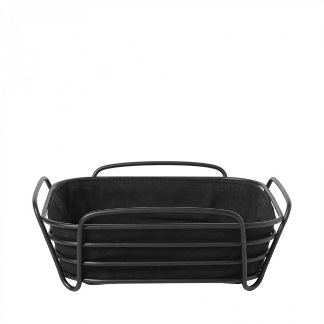 Koszyk na pieczywo Delara 25cm czarny