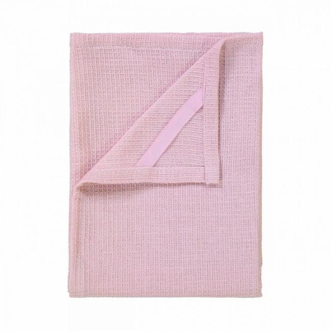 Komplet 2 ręczników kuchennych Grid Rose Dust