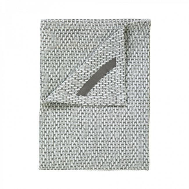 Komplet 2 ręczników kuchennych Ridge Lily White/Agave Green