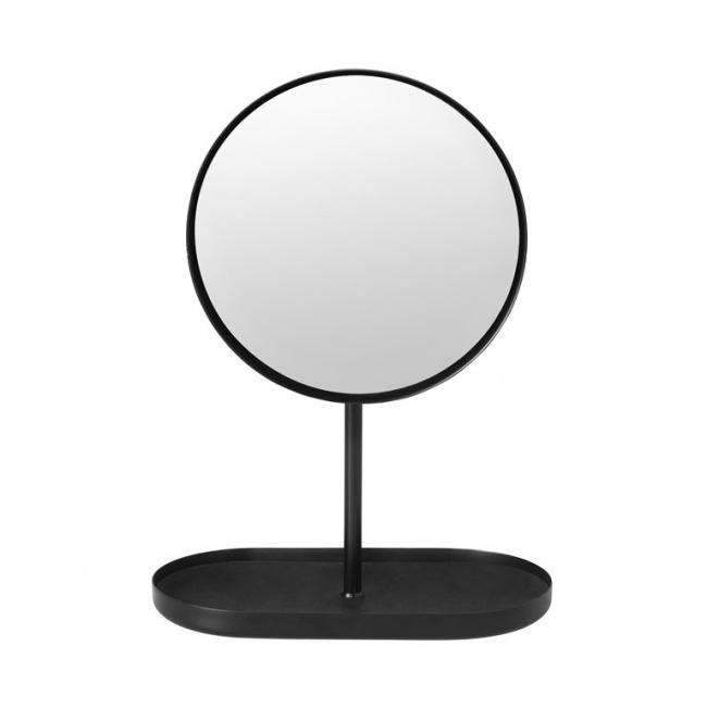 Lusterko z podstawką Modo czarne