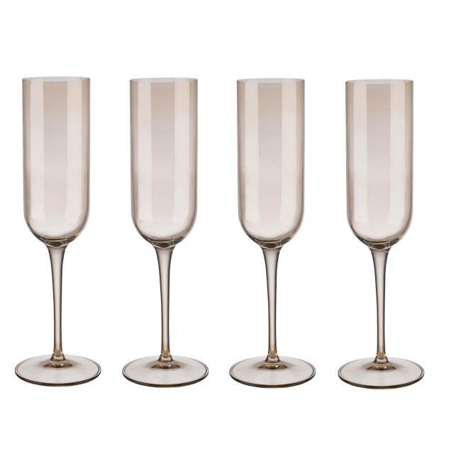 Komplet 4 kieliszków Fuum 210ml do szampana Nomad