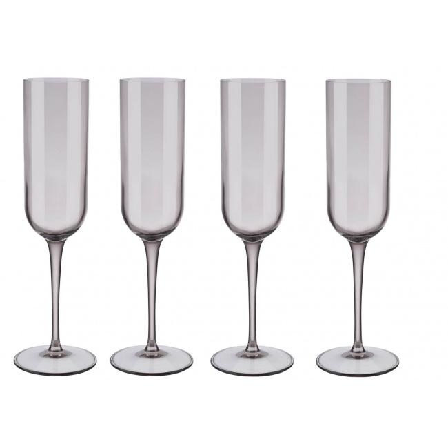 Komplet 4 kieliszków Fuum 210ml do szampana Fungi