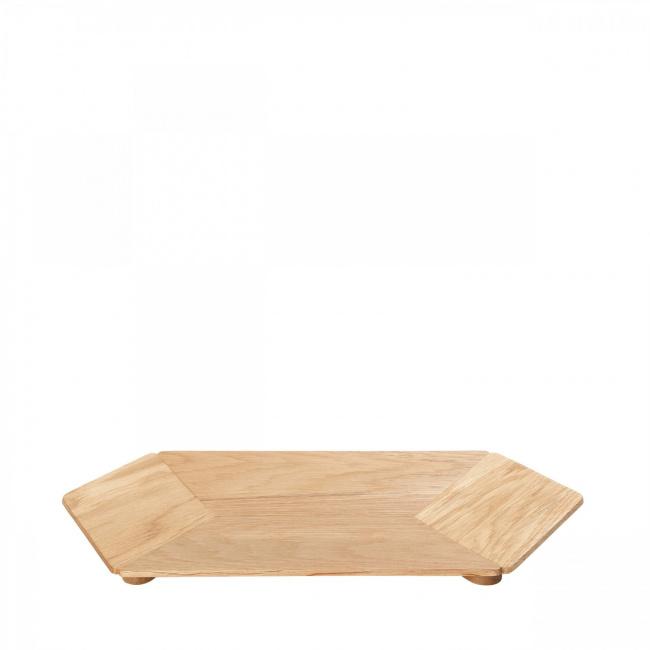 Patera drewniana Hexa duża