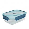 Lunchbox szklany 900ml + sztućce Retro
