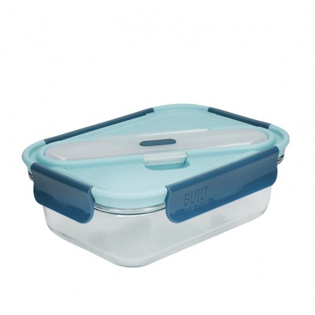Lunchbox 900ml + sztućce Retro
